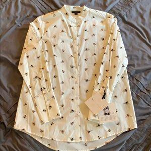Victoria Beckham Target button up shirt